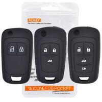 Silicone Key Cover Case Fob For Vauxhall Astra Corsa Zafira Mokka Cruze Aveo