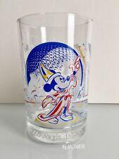 Disney World Epcot 25th Anniversary 1996 McDonald's Glass Cup Sorcerer Mickey