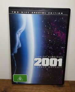 Stanley Kubrick's 2001 A Space Odyssey DVD, 1968 - 2 Disc Special Edition