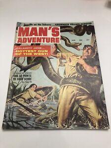 Vintage Man's Adventure Magazine - August 1958