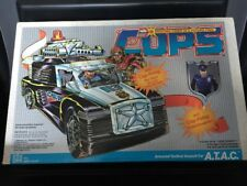 Cops N Crooks A.T.A.C. Armored Tactical Assault Car With Heavyweight  ATAC MISB