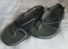 MERRELL Siren Tansy Vibram Women's Thong Sport Water Sandals Black/Gray SZ 9