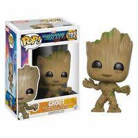 Funko Pop! Marvel Guardians of The Galaxy Vol. 2 Groot #202 Vinyl w/protector