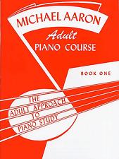 Michael AARON CORSO DI PIANOFORTE PER ADULTI LEZIONI LIBRO 1 Principiante SPARTITO LIBRO