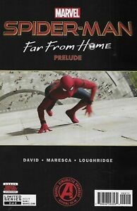 Spider-Man Comic 2 Far From Home Prelude Cover A First Print 2019 Peter David