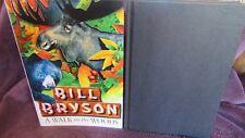 A Walk in the WOODS ~ Bill BRYSON. 1st UK HbDj 1997  Appalachian Trail  in MELB