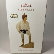 "Hallmark Keepsake Ornament LUKE SKYWALKER Star Wars: ""A New Hope"" 2019"