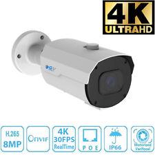 GW 8MP 2160p @30fps 4K IP Bullet 4X Optical Motorized Zoom PoE Security Camera