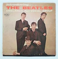 INTRODUCING THE BEATLES Original Mono LP VJLP 1062 VEE JAY Authentic Rare!