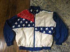 Vintage 1996 Atlanta Olympics Mens Windbreaker Jacket Logo Athletic USA Size M