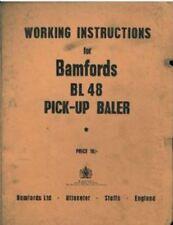 BAMFORD BL48 Baler opérateurs manuel