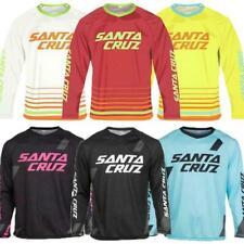 Cycling Long Sleeves Santa Cruz Maillot Mountain Bike Breathable T-Shirt Men ._+