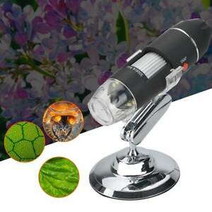 1600X Zoom LED USB Microscope Digital Magnifier Endoscope Camera Video