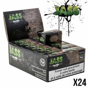 JASS Rolls SLIM BROWN - Feuilles à Rouler Boite de 24 Rouleaux