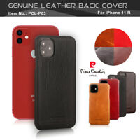 For i Phone 11 Pro max 11pro Case cover Pierre Cardin Genuine Leather Hard PC