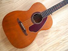 1960s Fender by Harmony H165 Vintage Acoustic Guitar Mahogany, Tim Armstrong