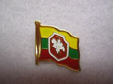 """Vintage New Lithuanian Flag with """"Vytis""""-national symbol in the center Lapel Pin"""