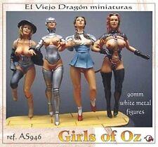 LES FILLES D'OZ, Figurines érotiques EL VIEJO DRAGON 1/20 - 90 mm - Réf. AS9-46