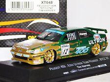 PEUGEOT 406 ESSO ULTRON #12 T. HARVEY TEAM PEUGEOT BTCC 1997 ONYX XT048 1/43