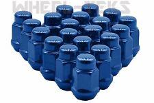 12x1.5 Blue Bulge Acorn Lug Nuts Conical Seat Fits All Honda Models