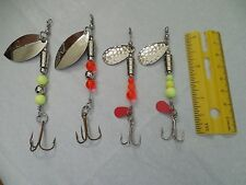 TROUT & SALMON SPINNERS GREAT LAKES LURES STEELHEAD CUSTOM MADE NORTHERN WALLEYE