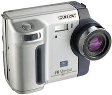 Sony Mavica MVC-FD200 2.0 MP Compact Digital Camera Black Metallic Silver