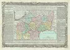 1786 Desnos and de la Tour Map of Languedoc and Midi-Pyrennes Regions of France