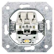 SIEMENS DELTA Taster-Geräteeinsatz, UP mit Dauerlichtbeleuch