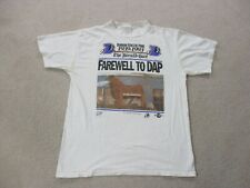 VINTAGE Durham Bulls Shirt Adult Extra Large White Minor League Baseball Men 90s