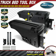 2x Lockable Storage Truck Bed Tool Box Left &Right for Dodge Ram 1500 2500 3500