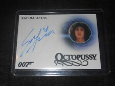 James Bond 007 Autograph Trading Card Safira Afzal as Octopussy Girl