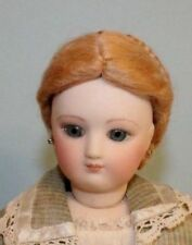 1870 Blonde French Fashion doll mohair wig Size 8 - 9