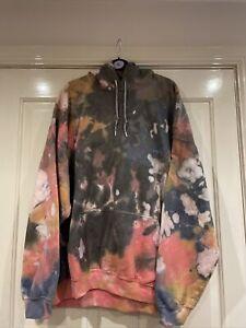 Iets Frans Urban Outfitters Tie Dye Hoody Hoodie Size L Bnwt £49 Unisex