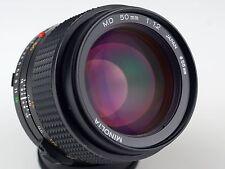MINOLTA 1.2/50 MD Mount Lens eccellente