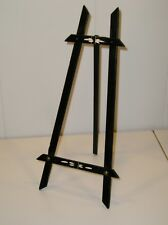 Antique Eastlake Victorian Black with Carving 15 inch Tall Easel Picture Frame