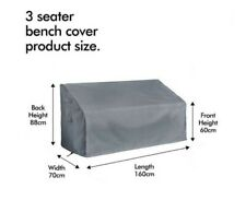 3 Seater Bench Cover Premium Outdoor Patio Furniture Cover