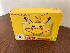 Boîte vide eua Nintendo 3ds xl pikachu jaune pokemon