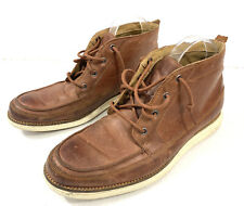 Cole Haan Orignal Grand Moc Chukkas Mens Size 9 Brown Leather Lace Up Boots