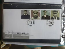 UK 2003 PRINCE WILLIAM 21st SET 4 STAMPS FDC FIRST DAY COVER