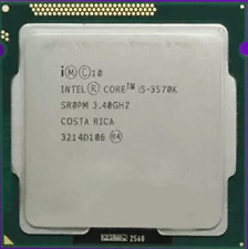 Intel Core i5-3570K 3.4Ghz LGA 1155 SR0PM 6M Cache 4-Cores 5 GT/s Unlocked CPU