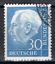 Germany 1954. President Heus. 30pf Blue.