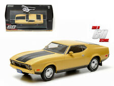 """1973 Ford Mustang Mach 1 Yellow """"Eleanor"""" """"Gone in Sixty Seconds"""" Movie (1974) 1"""