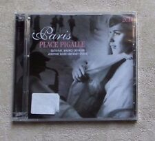 "CD AUDIO MUSIQUE/ VARIOUS ""PARIS PLACE PIGALLE (PIAF ...)"" 2XCD COMPILATION NEUF"