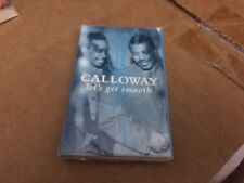 CALLOWAY LET'S GET SMOOTH FACTORY SEALED CASSETTE SINGLE 9