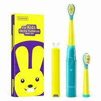 Kids Electric Toothbrush | 3 Modes with Timer & 2 Replacement Heads | Yrs 3+