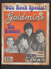 GOLDMINE 10/1988 RECORD COLLECTOR'S MARKETPLACE RASCALS LEFT BANKE GENTRYS