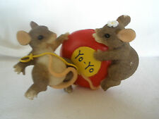 "Charming Tails Fitz & Floyd ""Even The Ups And Downs Are Fun"" 89/705- Retired"