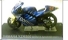 MODELLINO MOTO -YAMAHA YZR500 - S HINYA NAKANO - 2001 -  SCALA 1:24