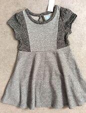GAP Cotton Blend Short Sleeve Knee Length Girls' Dresses (2-16 Years)