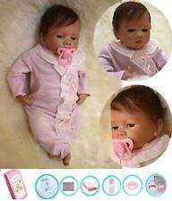 Ziyiui Reborn poupées 20 in (environ 50.80 cm) -50 cm réaliste reborn baby bébé poupée pour fille Real